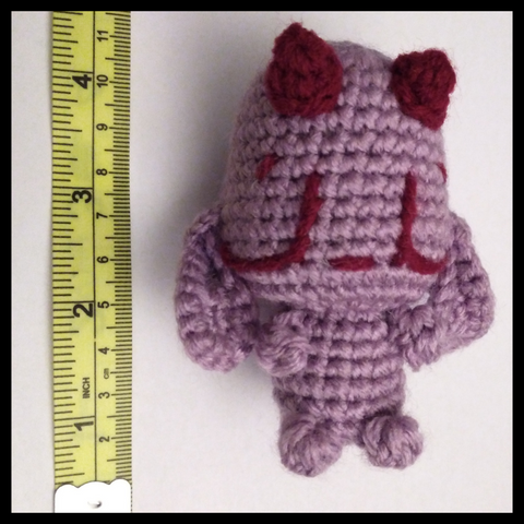 How to measure your amigurumi's height