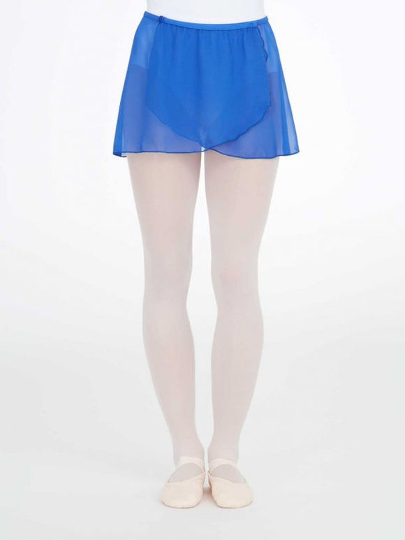 Certificate IV in Dance Button Wrap Skirt- True Blue This skirt can be directly Ordered from the Capezio Store Elsternwick
