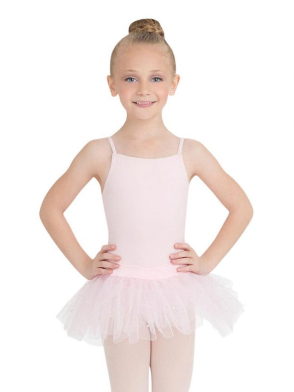 Little Nashies - Camisole Tutu Dress with Bow Detail - Pink