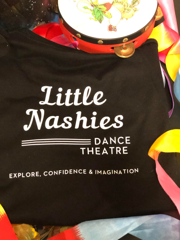 Little Nashies T-Shirt - Black