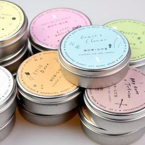 7 x scents - travel candles
