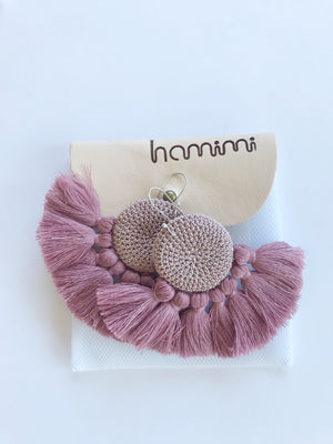 Blush Crochet Tassel 1