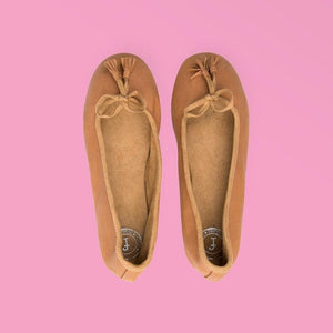 Caramel Ballet Flat - Creative Finds