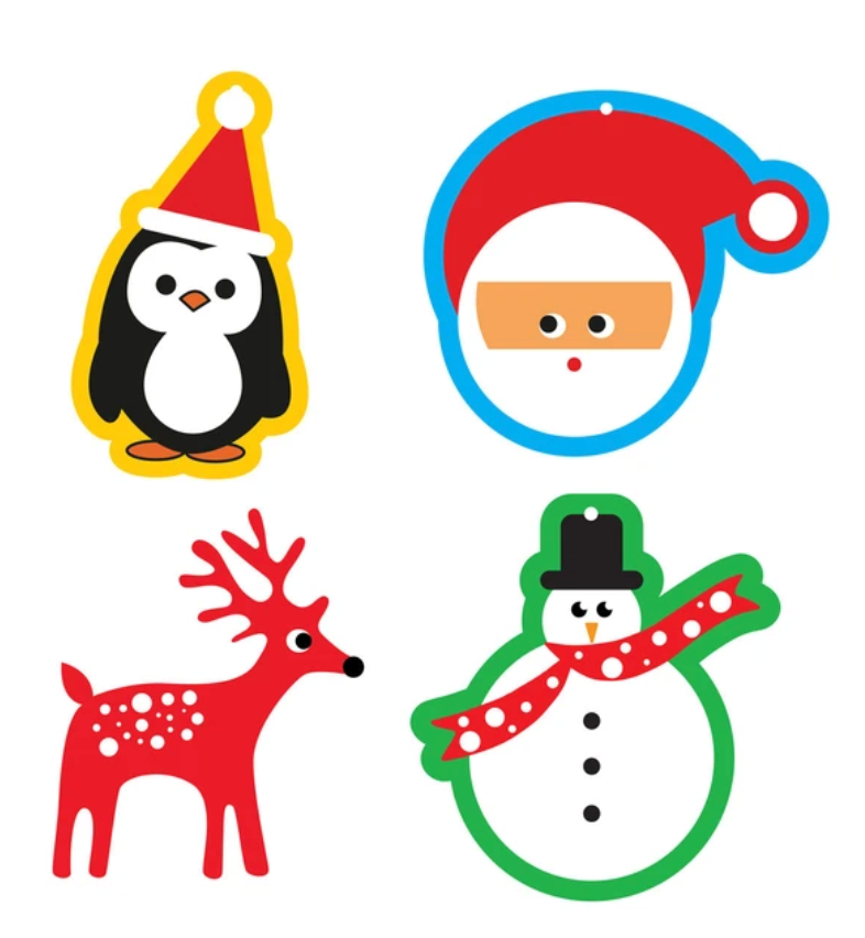 christmas gift tags - set 4