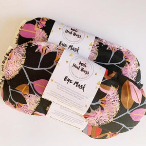 Eye mask pink blossom