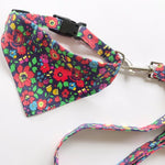 Floral Dog Accessory pack 2