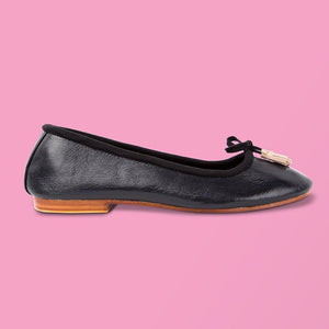 French Navy Ballet Flat - Creative Finds