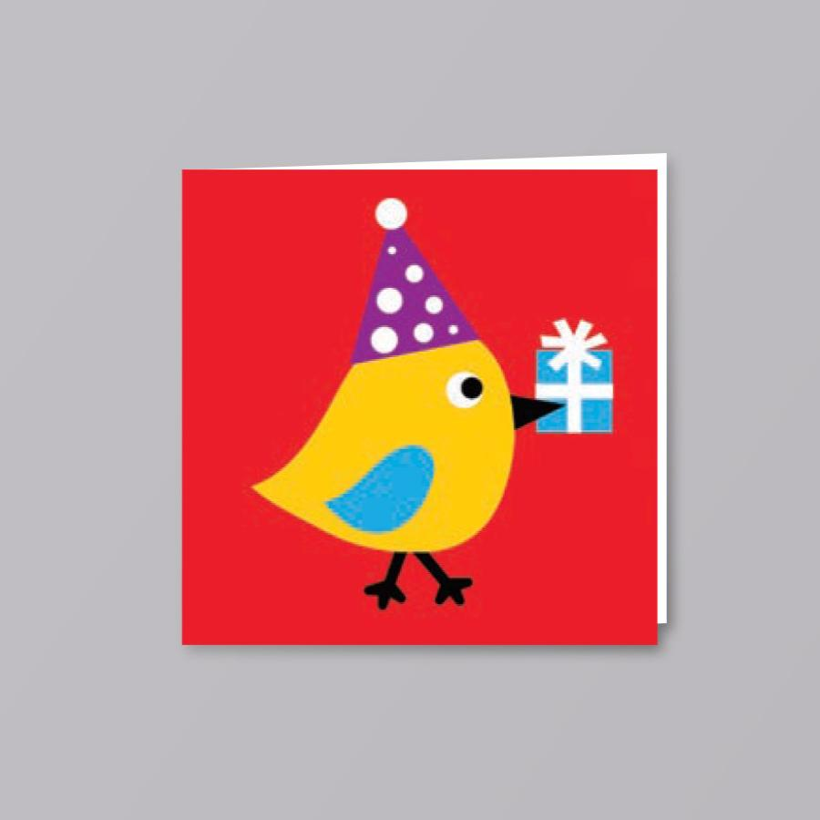 Kids Card Birdy - Creative Finds