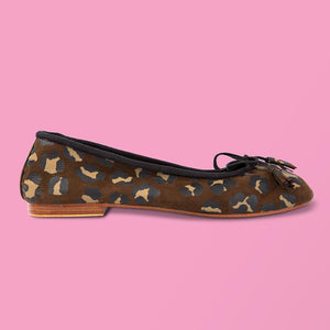 Leopard Ballet Flat - Creative Finds