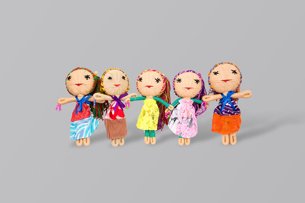 Sara Doll Multi - Creative Finds