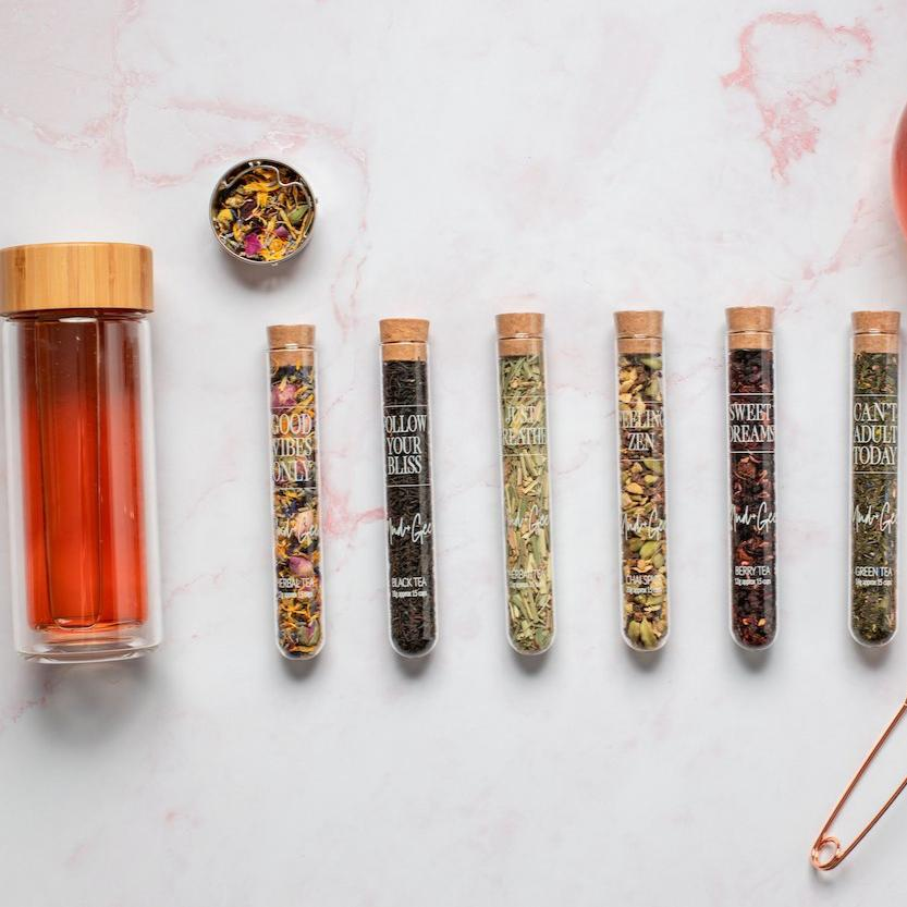 Test Tube Teas & Tumbler