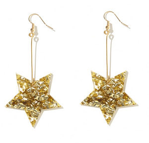 star drop earrings - pre order