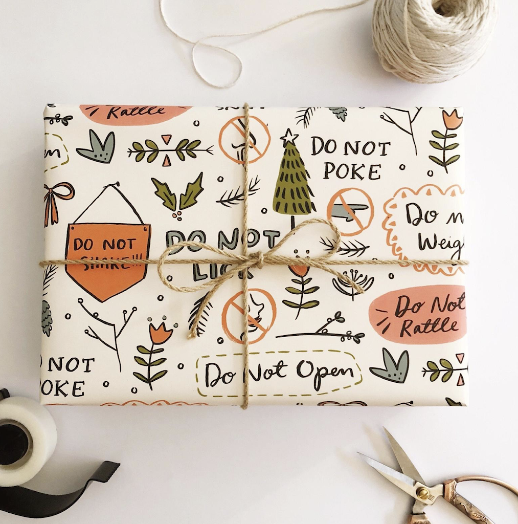 Gift Wrap Inspo - Creative Finds