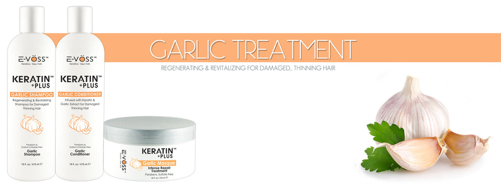 Keratin Plus™ Garlic Treatment