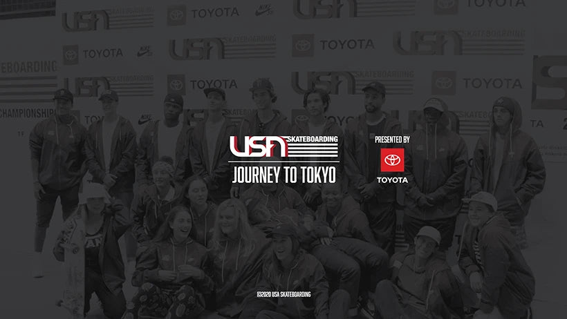 """USA Skateboarding Journey to Tokyo Presented by Toyota"" Released Globally on The Olympic Channel"