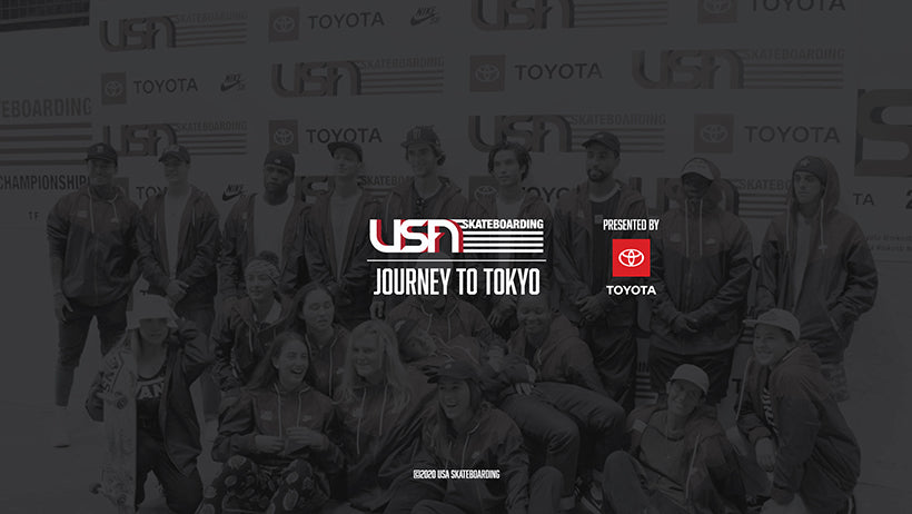 USA Skateboarding Journey to Tokyo Presented by Toyota