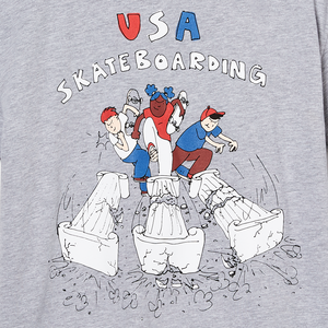 "Henry Jones USA Skateboarding ""Breaking Through"" Tee"