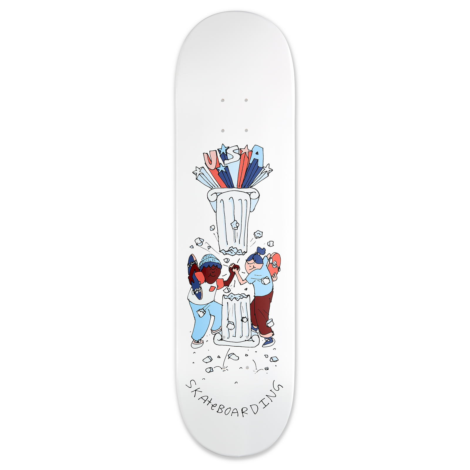 "Henry Jones USA Skateboarding ""Unity"" Deck 8.25"""