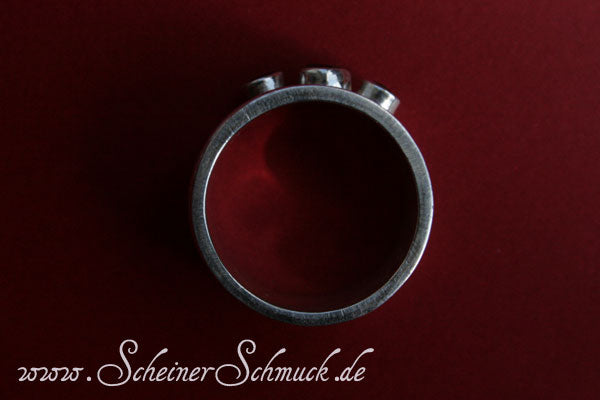 Wunschring Deluxe mit Granat