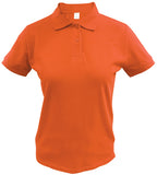 SOGNA Women's Slim Polo 100% Ring Spun 220Gsm Cotton Basic Ladies shirt