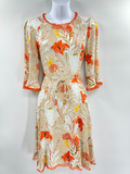 SOGNA COL FLORAL PRINT DRESS