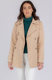 SOGNA COL BELTED TRENCH COAT IN CAMEL