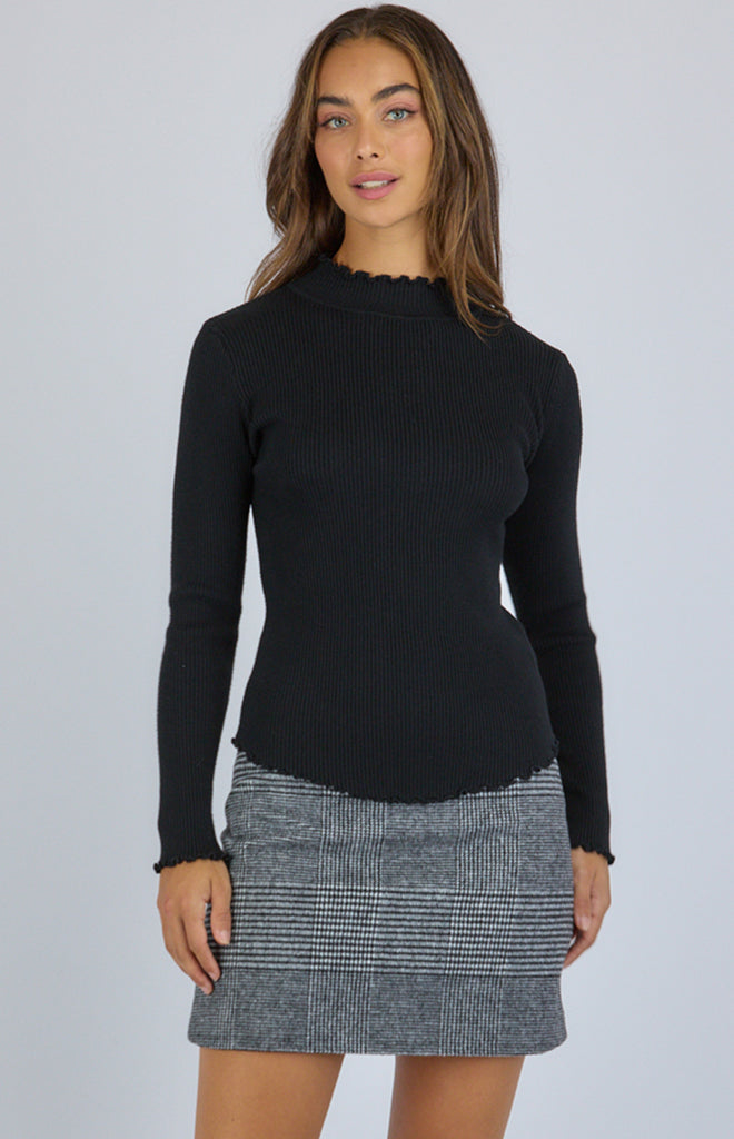 SOGNA KNIT LONG SLEEVES  TOP
