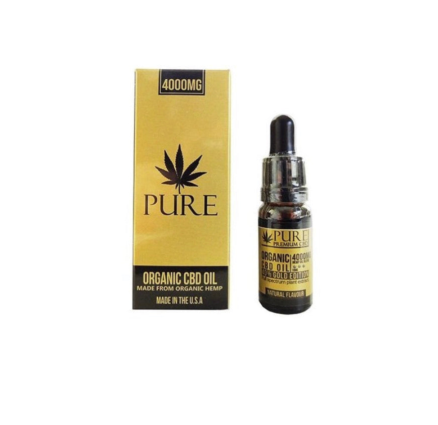 Pure Organic 4000mg CBD Oil - CBD Newry Ltd