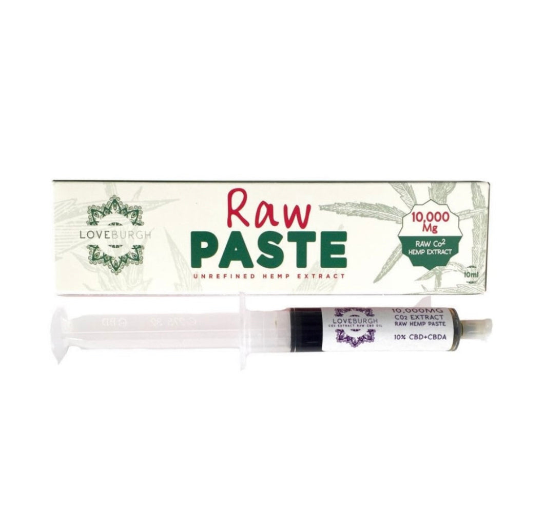 Loveburgh RAW paste. 1000mg extract - CBD Newry Ltd