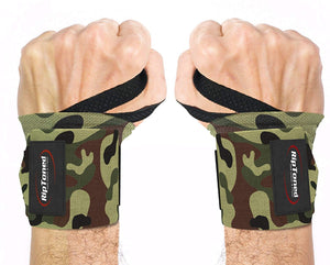 "Rip Toned Wrist Wraps 18"" Professional Grade with Thumb Loops - Wrist Support Braces for Men & Women - Weight Lifting, Xfit, Powerlifting, Strength Training"