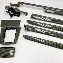 Load image into Gallery viewer, B6/B7 Audi A4/S4/RS4 yellow kevlar carbon fiber interior trim set