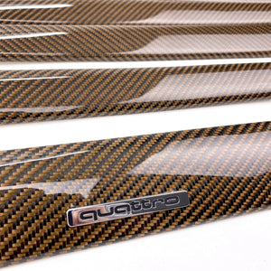B6/B7 Audi A4 / S4 / RS4 copper carbon fiber interior trim set