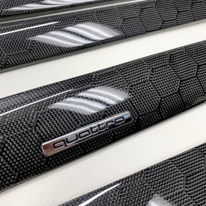 B6/B7 Audi A4/S4/RS4 honeycomb carbon fiber interior trim set