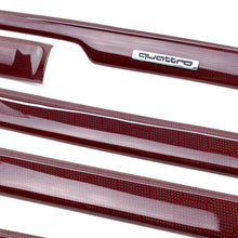 Load image into Gallery viewer, B5 Audi A4 / S4 / RS4 red honeycomb carbon fiber interior trim set