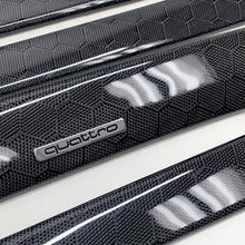 Load image into Gallery viewer, C5 Audi A6/S6 black honeycomb carbon fiber interior trim set