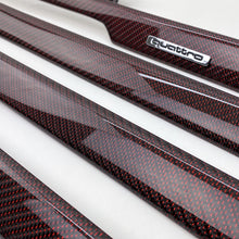 Load image into Gallery viewer, B5 Audi A4 / S4 / RS4 reflex red carbon fiber interior trim set
