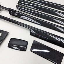 Load image into Gallery viewer, B6/B7 Audi A4 / S4 / RS4 honeycomb carbon fiber interior trim set