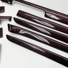 Load image into Gallery viewer, B6/B7 Audi A4/S4/RS4 red reflex carbon fiber interior trim set