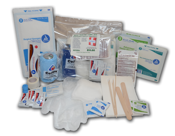 Disposable Mini Wound Care Kits