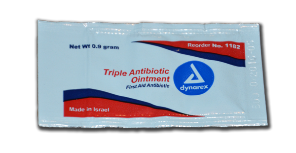 Antibiotic:  (Triple) - packet