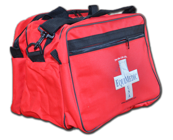 Small Triple-Section Medical Bag