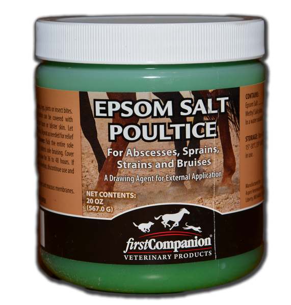 Epsom Salts: Poultice