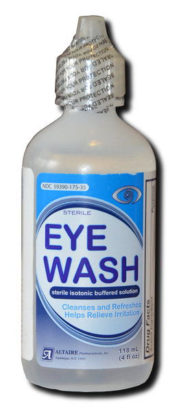 Eye Wash:  Large