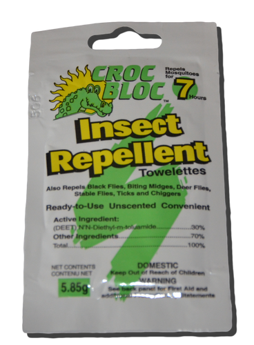 Insect Repel Towelettes