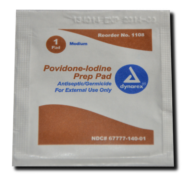 Iodine Wipes