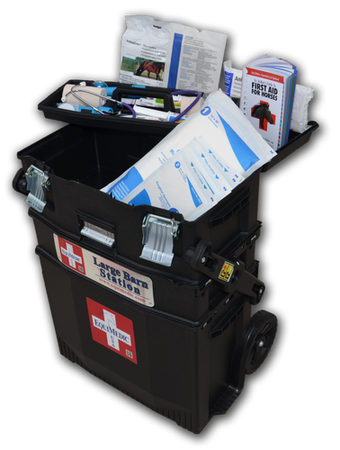 Barn Equine First Aid Medical Kit - Large Barn Medical Station