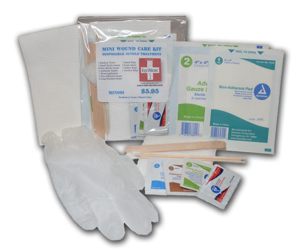 Small - Single Treatment Wound Care Kit
