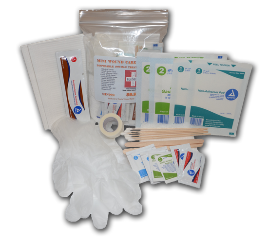 Medium  - Double Treatment Wound Care Kit