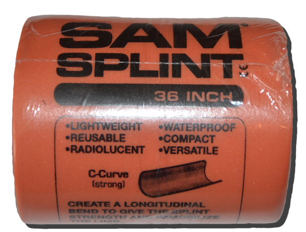Sam Splint (Large):  36 in.