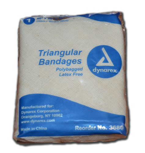 Bandaging:  Triangular
